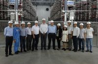 National Grid visits RXPE HVDC reference site